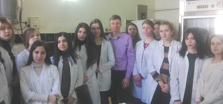Посещение кафедры биохимии