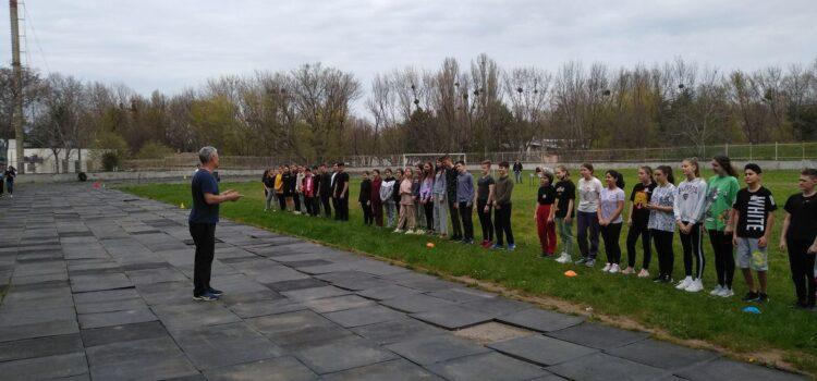 Спортивно- туристическое мероприятие для учащихся и учителей